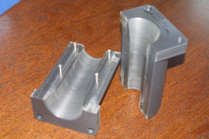 EKV machining of aluminium