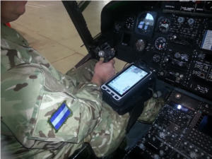 Military Pilot Tablet Knee Mount