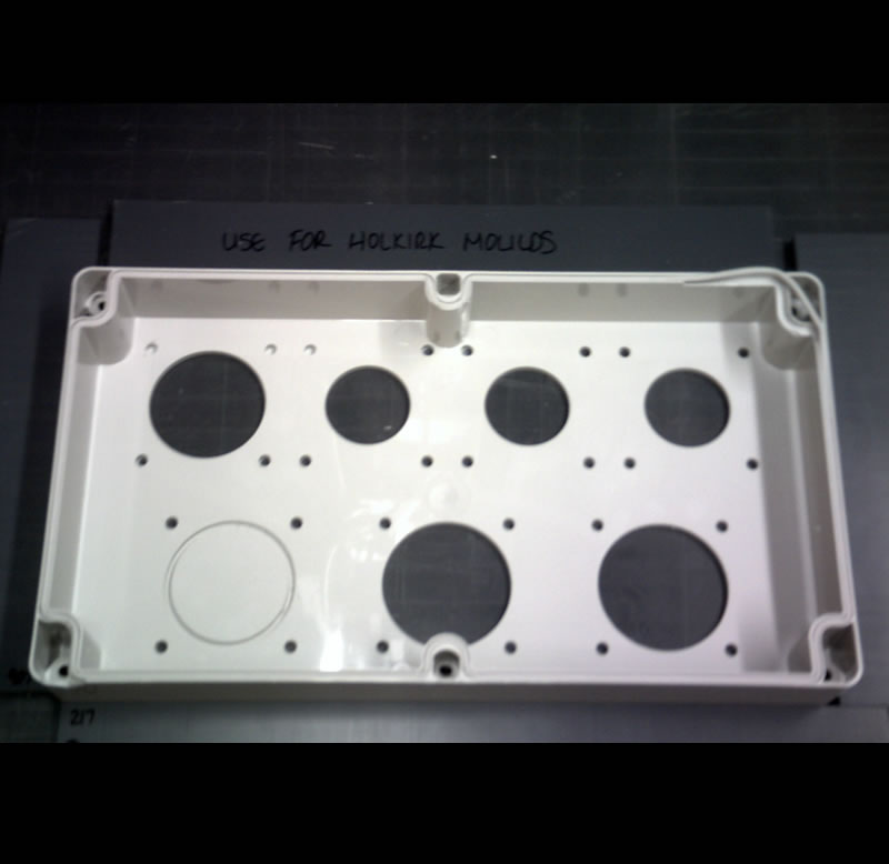 plastic machined enclosures