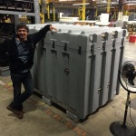 vacuum formed panels for refrigration crate refrigeration industry