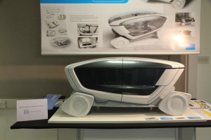 Plastic machining and engineering for new car designer. Plastic concept model engineered and machined for degree show.