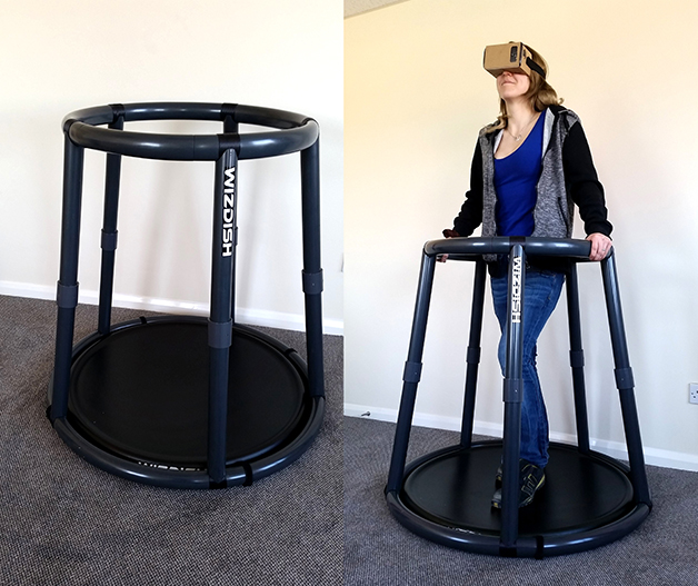 WizDish VR containment frame fabricated by Bray Plastics