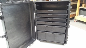 Peli cases thermal packaging manufacture by Bray Plastics