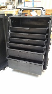 Bray Plastics tooling and manufacture of thermal packaging cases for Peli