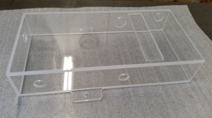 Plastic enclosure fabrication