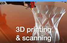 3D Printing and scanning