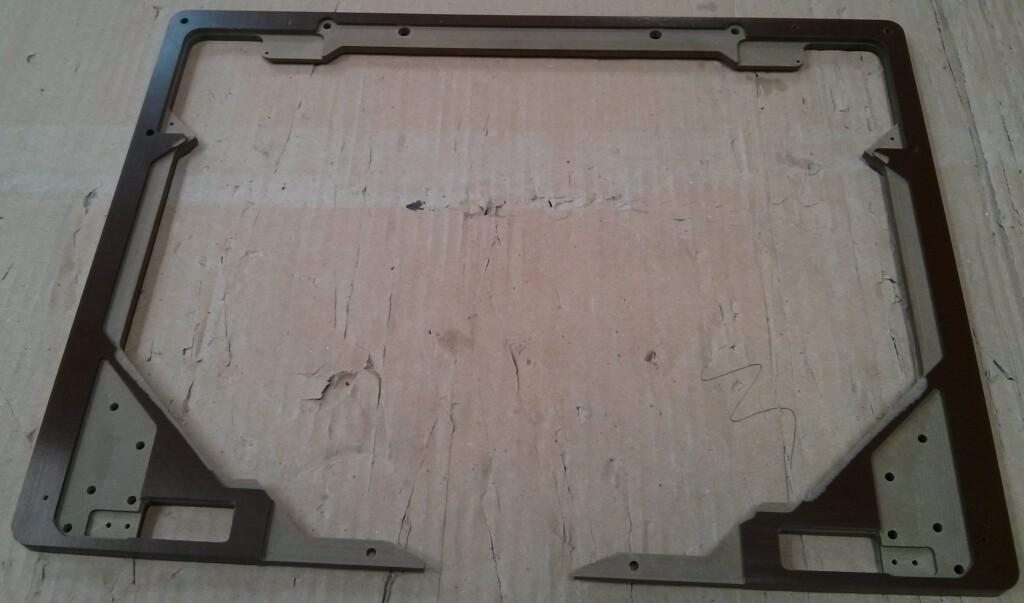 tufnol customised support frame