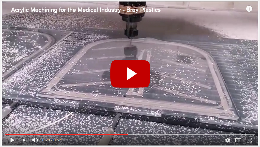 acrylic machining acrylic moulding for medical industry